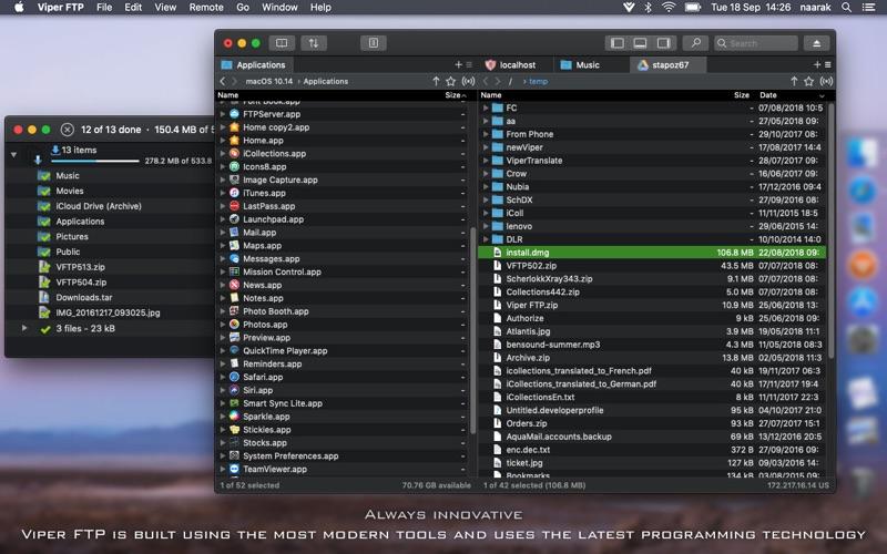 Viper FTP Screenshot 3