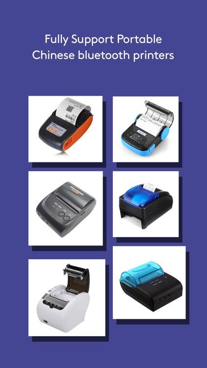 Bill 4 Bluetooth Printer screenshot-4
