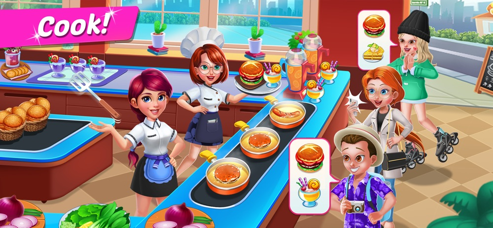 Cooking Food: Fast Order Up