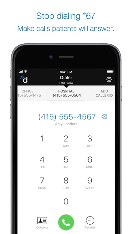 Dialer For Doctors screenshot-1