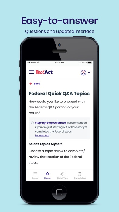 Screenshot for TaxAct Express in United States App Store