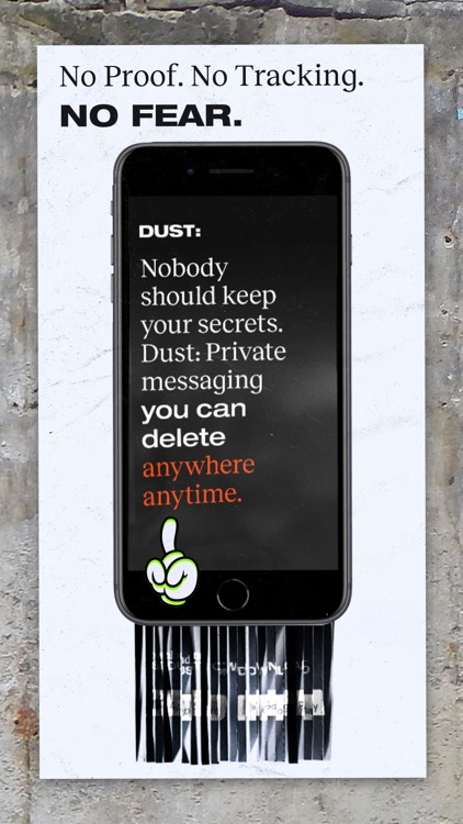 Dust - Private Texting screenshot-4