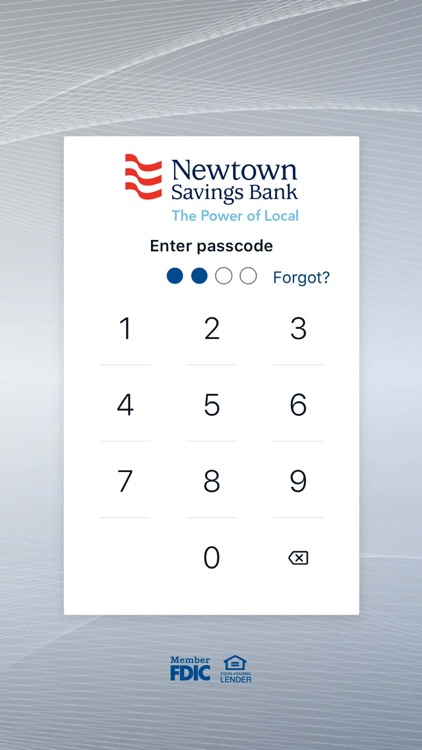 Newtown Savings Bank Mobile screenshot-0
