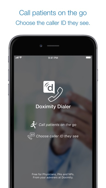 Dialer For Doctors screenshot-0