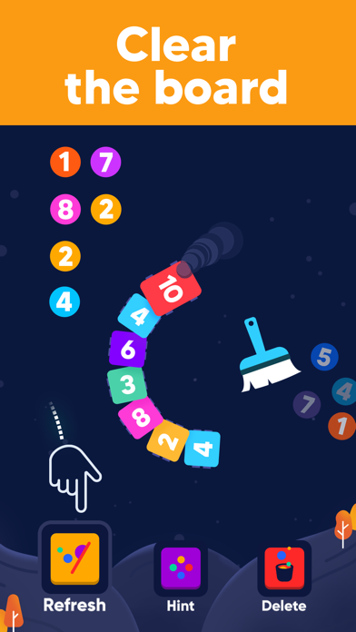 IQ Train -  Number Snake Game screenshot 7