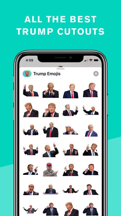 Trump Stickers and Trumpmoji screenshot-6