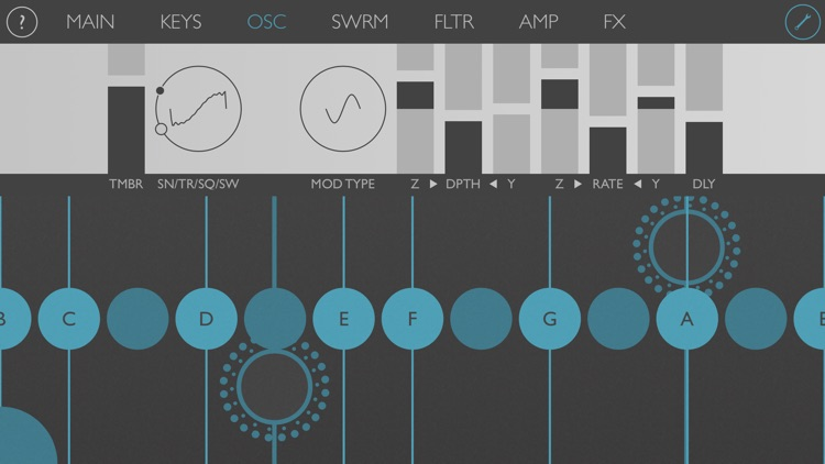Ribbons : Touch Instrument