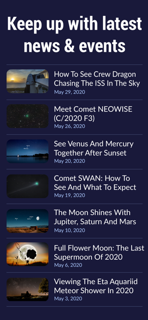 ‎Star Walk 2: The Night Sky Map Screenshot