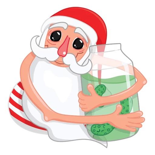 Christmas Santa Xmas Stickers