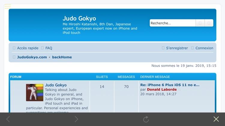 Judo Gokyo screenshot-9