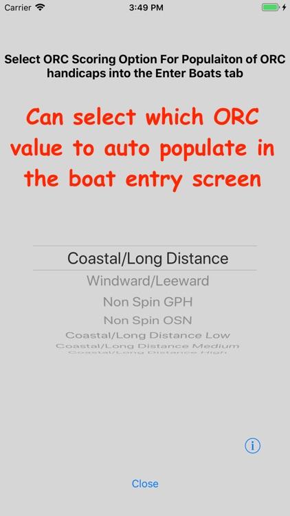 Sailing Handicap Calculator screenshot-9