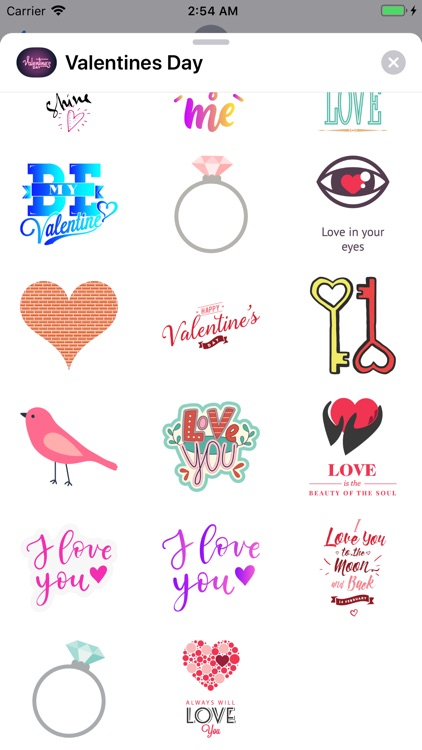 Valentines Day 2019 Stickers screenshot-3
