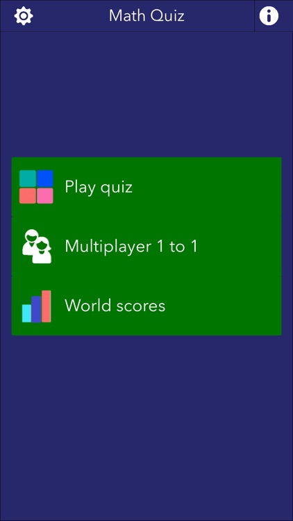 MathQuiz - A Trivia for all