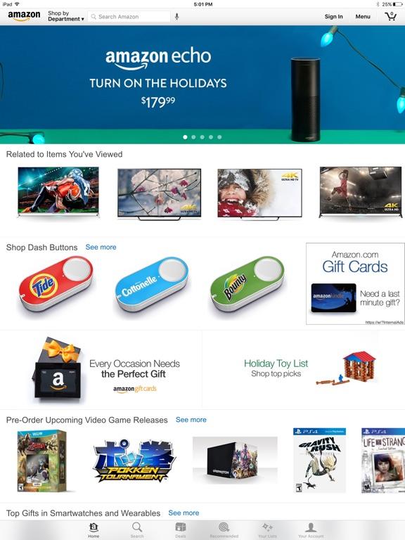 Screenshot #1 for Amazon - Shopping made easy