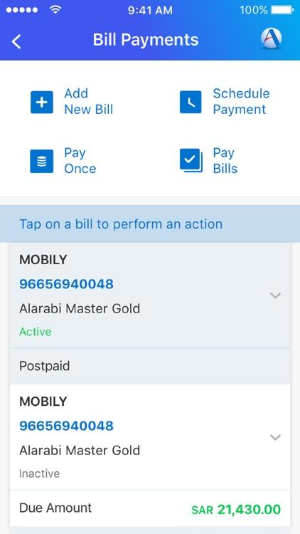 ANB Mobile- Arab National Bank screenshot-4