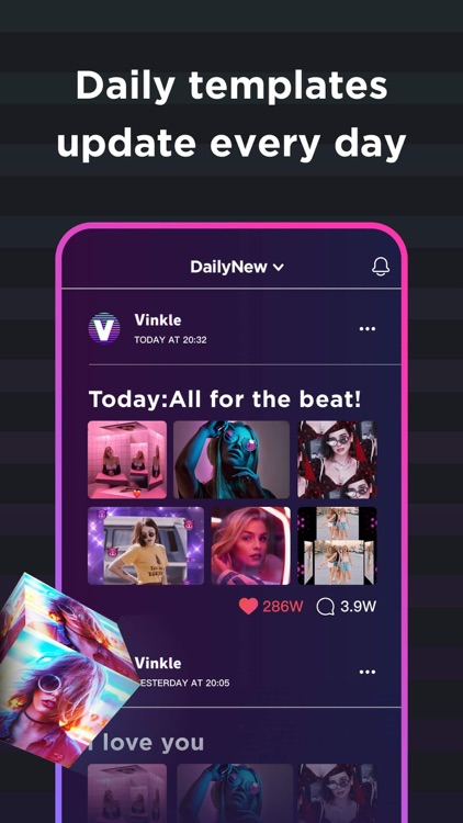 Vinkle - Music Video Maker screenshot-3