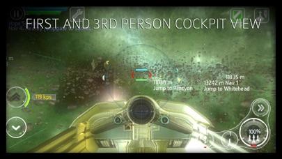 Screenshot from Stellar Wanderer