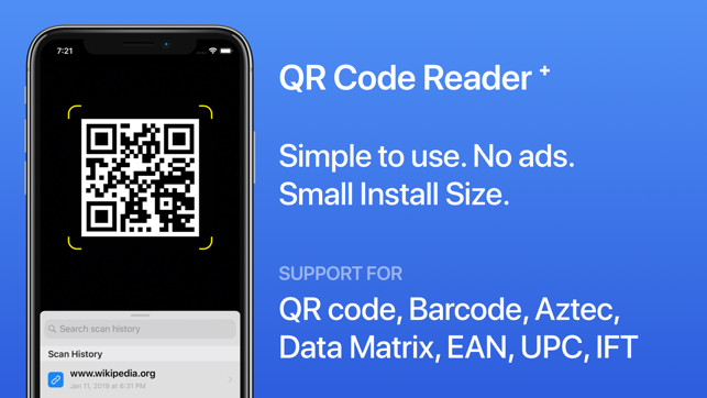 QR Code Reader⁺ on the App Store