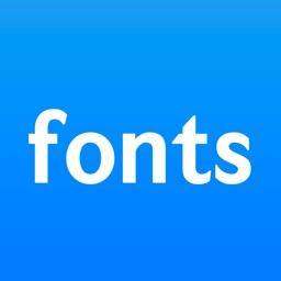 Fonts for Instagram .