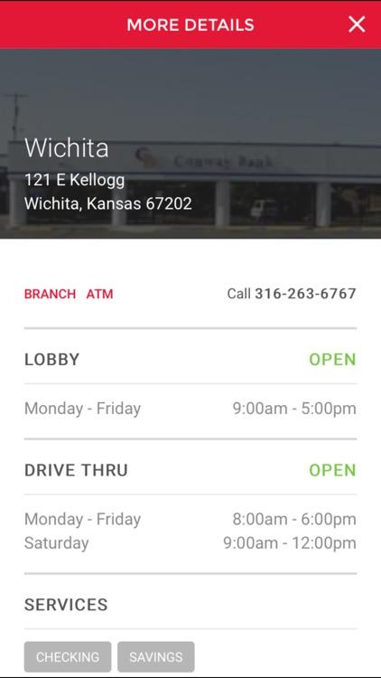 Conway Bank Mobile Banking screenshot-3