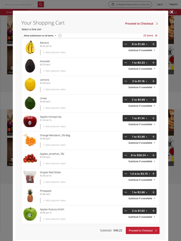 Sunset Foods Egrocer screenshot 8