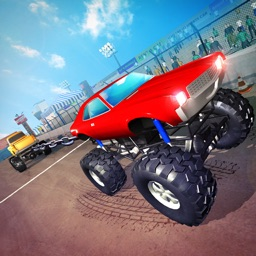 Monster Trucks Tug of War Sim