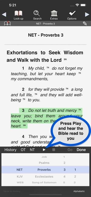 Touch Bible on the App Store