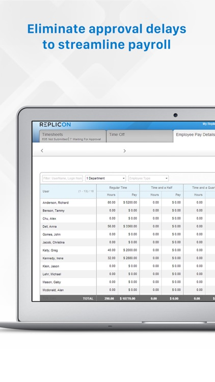 Replicon - Timesheets with GPS screenshot-4