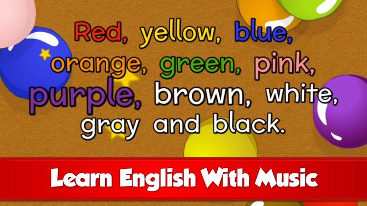 Fun English Songs screenshot-0
