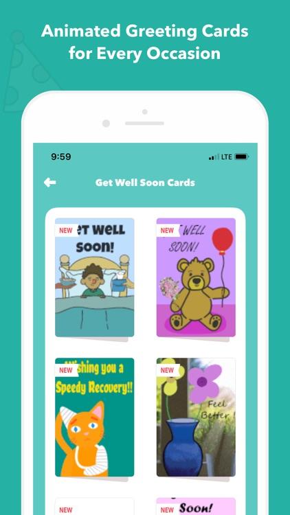 CardSnacks: ecards, greetings screenshot-7
