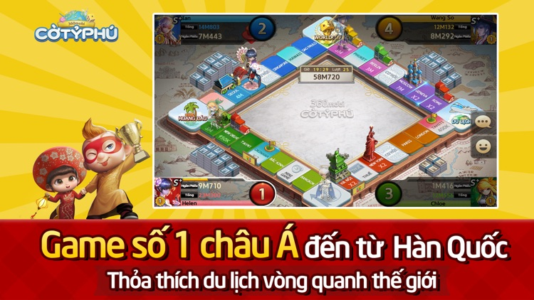 360mobi Cờ Tỷ Phú screenshot-4