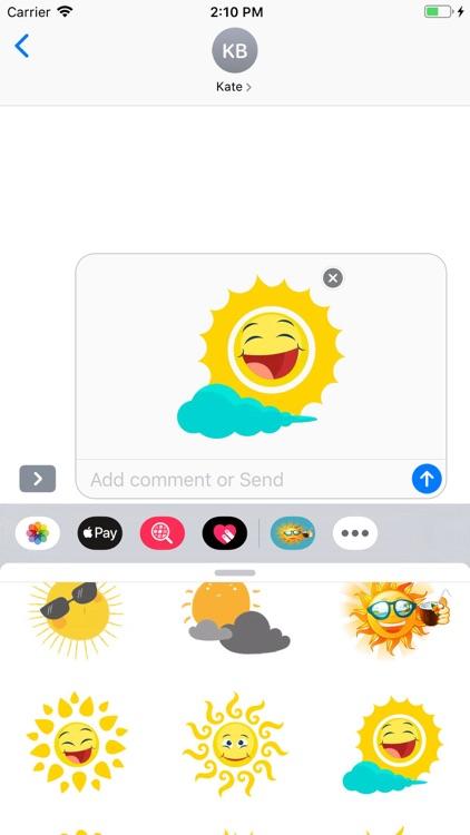 Sunshine Stickers Pack screenshot-8
