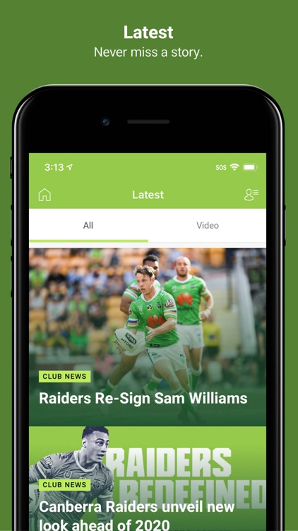 Canberra Raiders screenshot-4