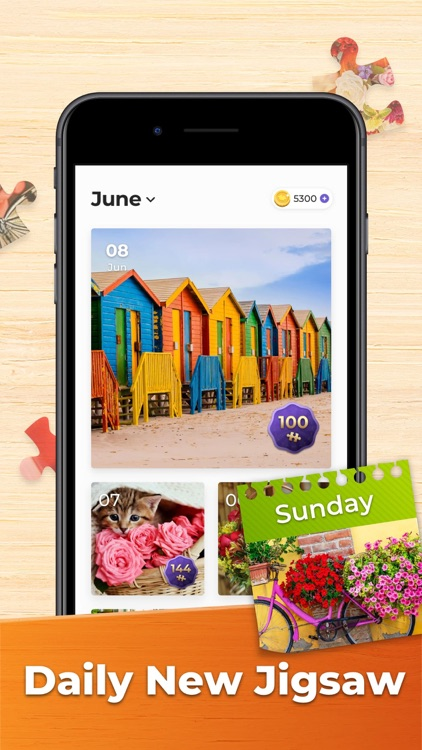 Puzzle Games: Jigsaw Puzzles screenshot-5