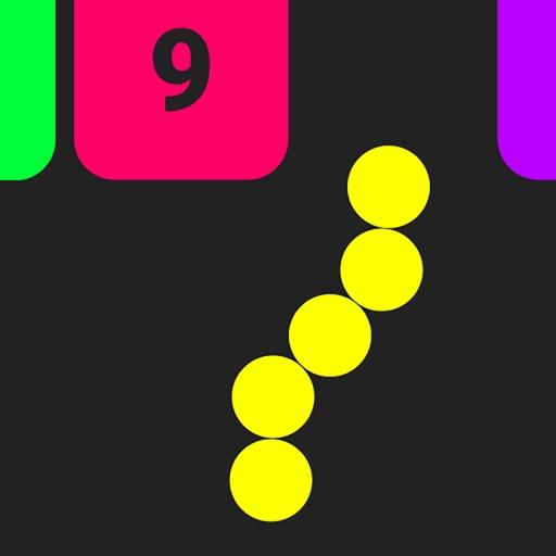 Змейка против Блоков с Цифрами