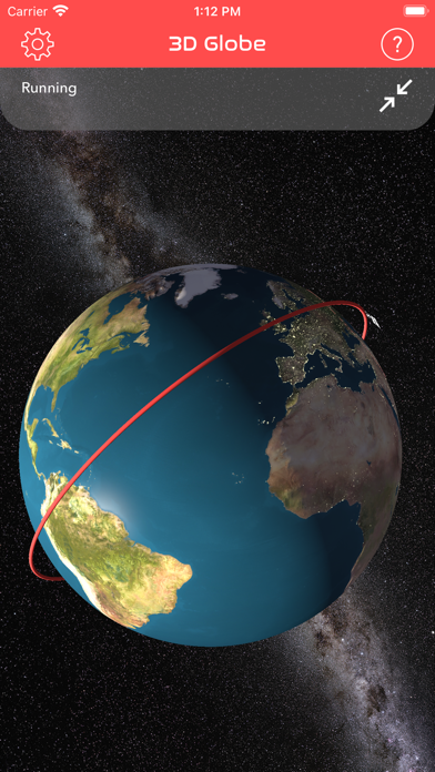 Screenshot #3 pour ISS Real-Time Tracker 3D