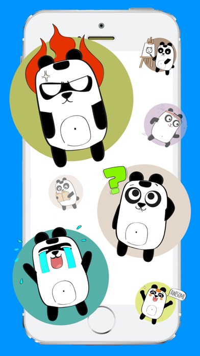 Screenshot for Best Panda Stickers in United States App Store