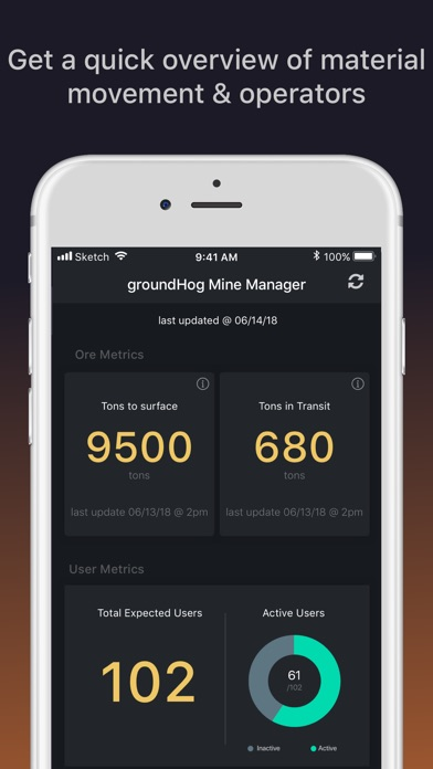 Screenshot for gH Mine Manager in Viet Nam App Store