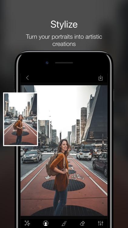 Phocus: Portrait mode editor screenshot-5