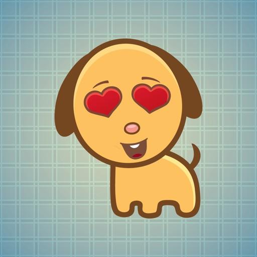 Sticker Me Lovely Puppy