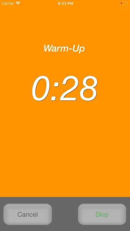 Runner's Interval Timer Pro screenshot-3
