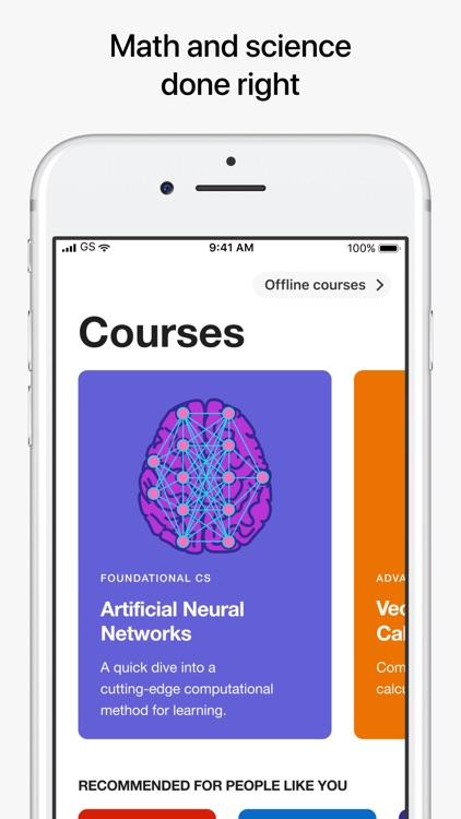 Brilliant – solve, learn, grow screenshot-0