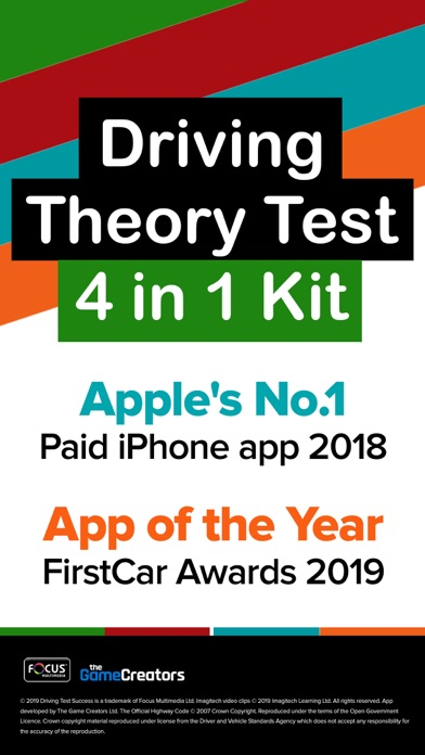 Screenshot for Driving Theory Test 4 in 1 Kit in Pakistan App Store
