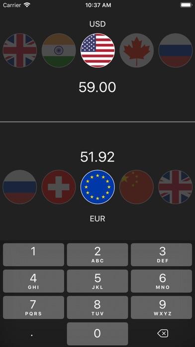Exchange - Currency, Bitcoin screenshot 1