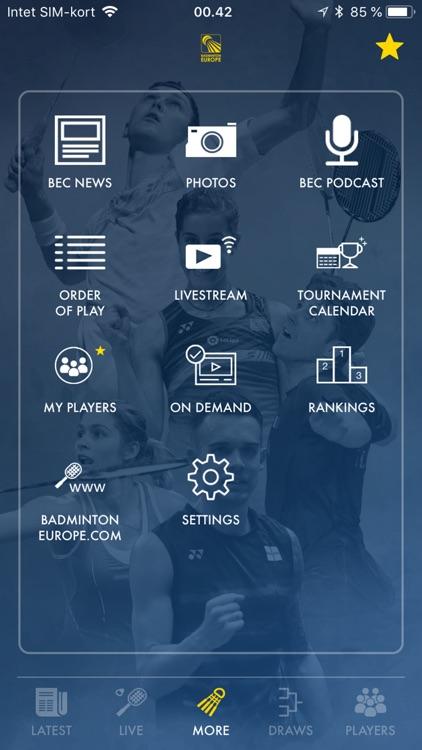 Badminton Live - rank & scores screenshot-3