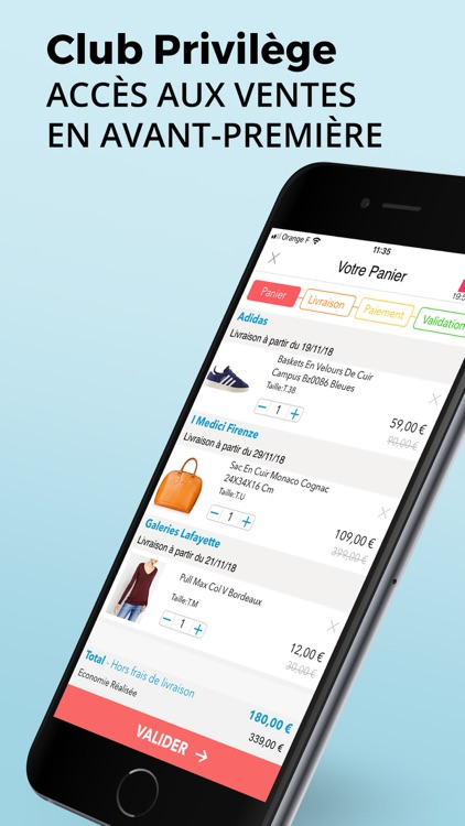 BazarChic, ventes privées mode screenshot-4