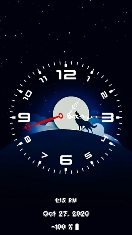 Analog Clock - Stand Face Time