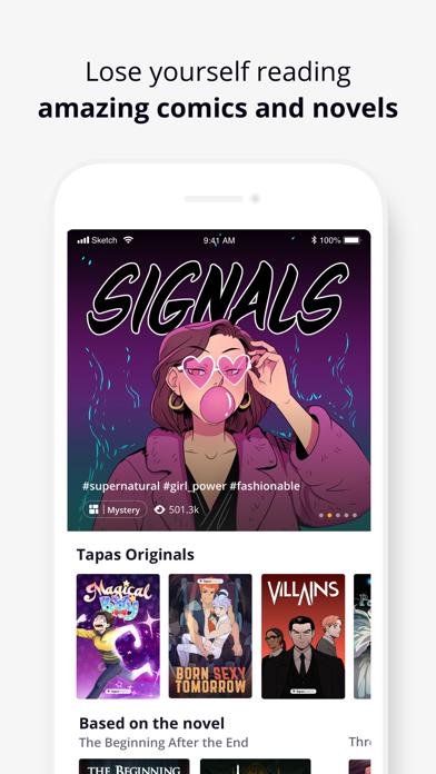 Tapas – Comics and Novels Screenshot