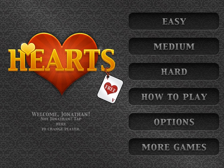 Hearts HD! screenshot-3
