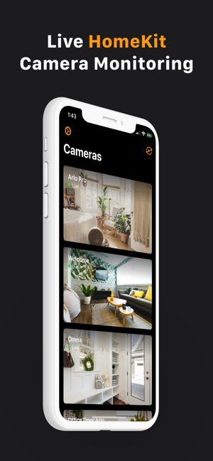 ‎HomeCam for HomeKit Screenshot